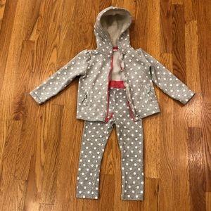 Oshkosh girls' sweatsuit set